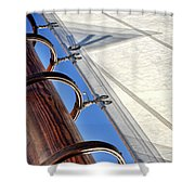 Sails Up Shower Curtain