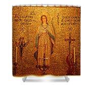 Saint Agnes Shower Curtain