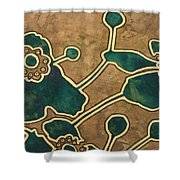 Saint Anemone Sylvestris Shower Curtain