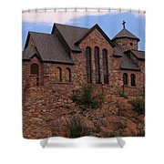 Saint Catherine Of Siena Chapel Shower Curtain