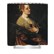 Saint Catherine Shower Curtain