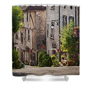 Saint Cirq Street Shower Curtain