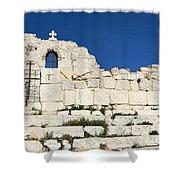 Saint George Ruins Shower Curtain