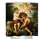Saint John Baptist Shower Curtain
