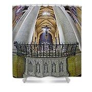 Saint John The Divine Rear Altar View Shower Curtain
