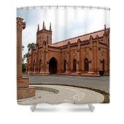 Saint John's Cathedral Anglican Church Peshawar Pakistan Shower Curtain