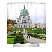 Saint Joseph Du Mont Royal Shower Curtain by Valentino Visentini