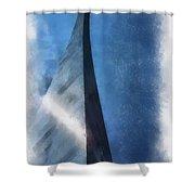 Saint Louis Arch Photo Art 01 Shower Curtain