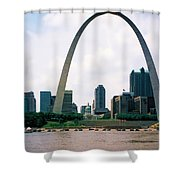 Saint Louis Arch Shower Curtain
