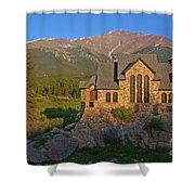 Saint Malo Chapel Shower Curtain