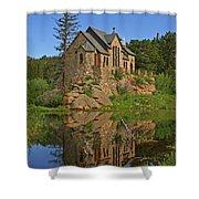 Saint Malo Reflection Shower Curtain
