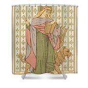 Saint Mark Shower Curtain