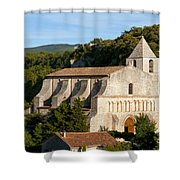 Saint Mary Of Saignon Shower Curtain