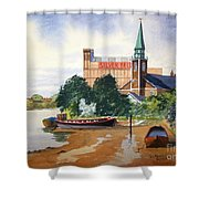 Saint Mary's Church Battersea London Shower Curtain