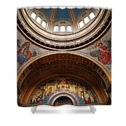 Saint Matthew's Cathedral Shower Curtain