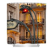 Saint Michel Shower Curtain