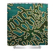 Saint Nephrolepis Exalta No.2 Shower Curtain