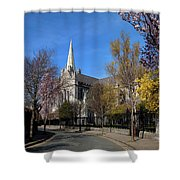 Saint Patricks Cathedral Founded Shower Curtain