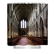 Saint Patrick's Cathedral Interior Dublin Shower Curtain