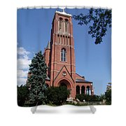 Saint Patrick's Church Shower Curtain