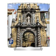 Saint Paul Church In Cordoba Shower Curtain