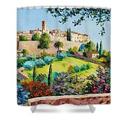 Saint Paul De Vence Shower Curtain