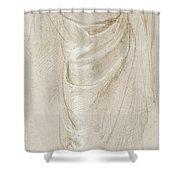 Saint Paul Rending His Garments Shower Curtain