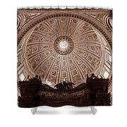 Saint Peter Dome Shower Curtain