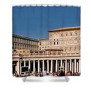 Saint Peters Square Shower Curtain