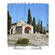 Saint Sixte An Old Chapel Shower Curtain
