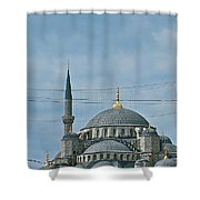 Saint Sophia's In Istanbul-turkey Shower Curtain