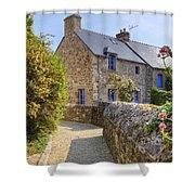 Saint-suliac - Brittany Shower Curtain