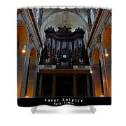 Saint Sulpice Shower Curtain