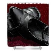 Saint Valentine Shoes Shower Curtain