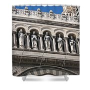 Saints Cathedral De La Major Shower Curtain