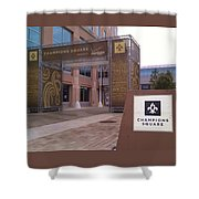 Saints - Champions Square - New Orleans La Shower Curtain
