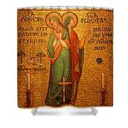 Saints Perpetua And Felicitas Altar Shower Curtain