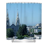 Saints Peter And Paul Church Shower Curtain