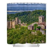 Saissac France Color Img 7740 Shower Curtain