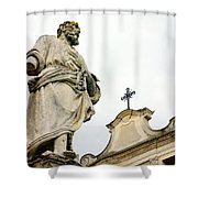 Sait And Cross Shower Curtain
