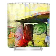 Sait Augustine Archeological Park Shower Curtain