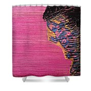 Collage Nr. 10 Salamander Shower Curtain by Jo Ann