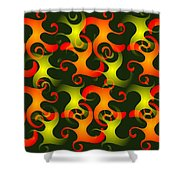 Salamanders Dream Shower Curtain