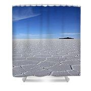 Salar De Uyuni Shower Curtain