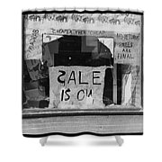 Sale Is On Shower Curtain