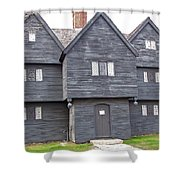 Salem Witch House Shower Curtain