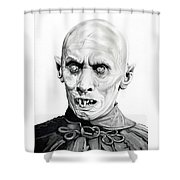 Salem's Lot Shower Curtain by Fred Larucci