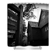 Salem's Witch House Shower Curtain