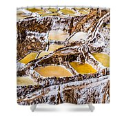Salinas De Maras Shower Curtain