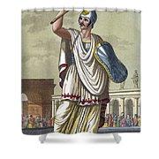 Salio, 1796 Shower Curtain